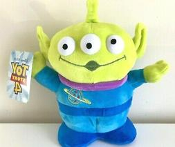 New Disney Pixar Toy Story 4 Space Alien Plush 9 inch tall.