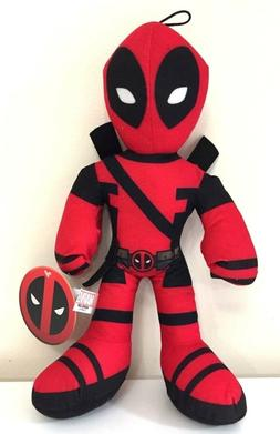 """NEW Large Deadpool Plush 14"""" Marvel Collectible. Licensed To"""
