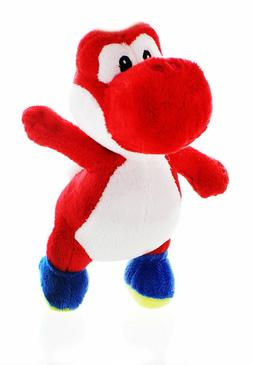 "Nintendo Super Mario Yoshi 8.5"" Stuffed Toy Plush 5pc Set: R"