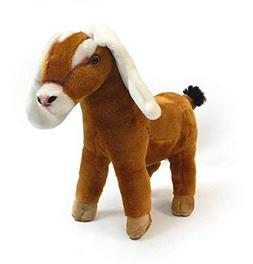 "Nubian Goat Plush Stuffed Animal Toy by Fiesta Toys - 12"""