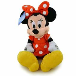 """NWT 15"""" Disney Minnie Mouse Plush Doll - Stuffed Toy Authent"""