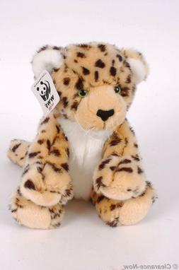 "NWT Gund Amur Leopard WWF Plush Toy 14"" Adorable Kitty Soft"