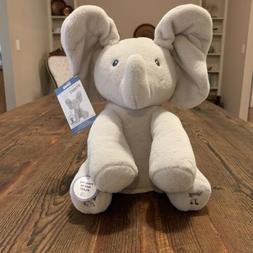NWT Baby GUND Animated Flappy the Elephant Stuffed Animal Pl