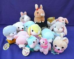 NWT LOT OF 15 AMUSE JAPAN PLUSH TOY ASSORTMENT STUFFED ANIMA
