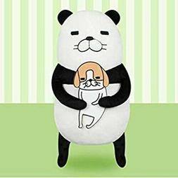 NWT Furyu pandatoinu Panda and Dog Japan Stuffed Plush Soft