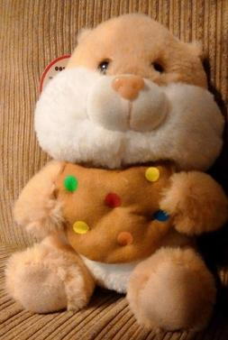 "NWT Peek-A-Boo Toys Plush Toy Cookie Hamster Small 8"" Cute S"