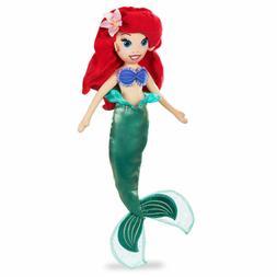 "NWT Disney Store Ariel Plush 18"" H doll toy The Little Merma"