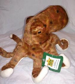 "Wild Republic Octopus Plush  8"" Stuffed Animal Plush Toy Gif"