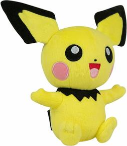 Official Licensed Pokemon Pichu Pikachu Plush Stuffed Figure