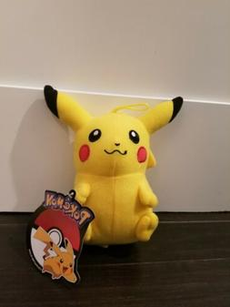 Official Licensed Pokemon Pikachu Plush Stuffed Doll Toy Gif