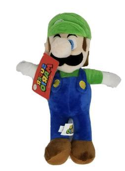 "Official Nintendo Luigi Plush Figure Stuffed Toy 12"""