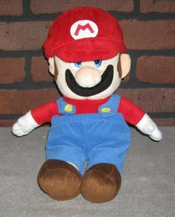 """OFFICIAL Mario Party 5 MEDIUM MARIO Plush Toy Doll Rare 14"""""""