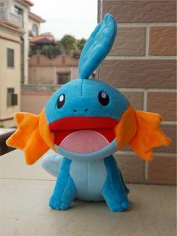 "Official Pokemon Tomy 7"" Mudkip Plush Toy Doll Christmas Gif"