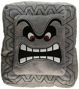 Nintendo Official Super Mario Thwomp Cushion/Pillow Plush, 1