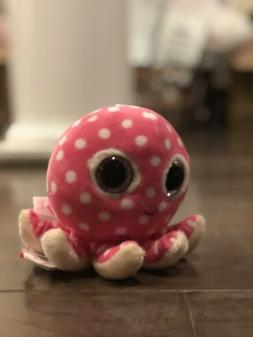 TY OLLIE the Octopus Beanie Boo 6 Inch Toy Stuffed Plush Ani