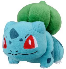 "Original TOMY Bulbasaur Plush Toy 5""H Poke Pokemon Doll Gift"