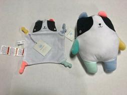 Panda Baby SECURITY BLANKET & Plush Toy Set CLOUD ISLAND