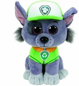 "Paw Patrol Beanie Boos TY Rocky 11"" Medium Plush Toy"