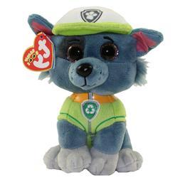 Ty Paw Patrol Rocky Plush Dog Beanie Babies 3+, Boys & Girls