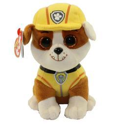 TY Paw Patrol RUBBLE - bulldog reg Plush