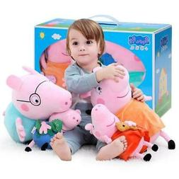 Peppa Pig George Stuffed Plush Family Party Toys Pig Plush D