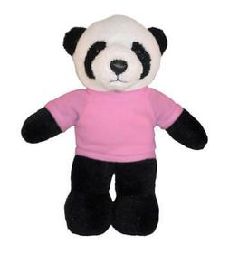 """Personalized 12"""" Panda Plush Toys Stuffed Animals w/ Imprint"""