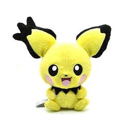 "Pokemon 8"" Rare Pichu Pikachu Electric Edition Plush Doll To"