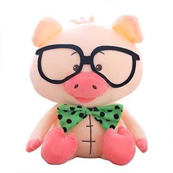 Winsterch Pig Plush Toy Stuffed Pig Animal Kids Gifts Baby T