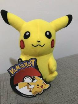 """Pikachu 6"""" Plush - Pokemon - New with Tags - Official Licens"""