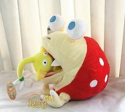 Pikmin Plush Doll Bulborb Chappy and Yellow Flower Soft Grea