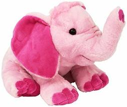 "Pink Elephant soft plush toy Kids stuffed animal 12"" by Wild"