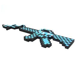 YiQIN Pixelated Diamond Foam Gun EVA Toys Action Figures Toy