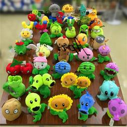 Plants vs Zombies 2 PVZ Figures Plush Baby Staff Toy Christm