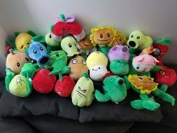 "Plants vs Zombies Squash 7"" Plush Toy Kids soft gift Pea Sho"