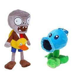 "Toyswill® Plants Vs Zombies Stuffed Plush Toy 11"" Tall - Ic"