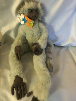 Disney PLIO Plush Toy With Tags From Dinosaur Sifika Lemur L