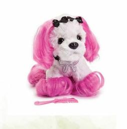 Princess of Beverly Hills Plush Small- Cute 90210 Dog - Comb