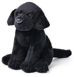 Nat and Jules Plush Bean Bag Black Lab Puppy Dog Stuffed Ann