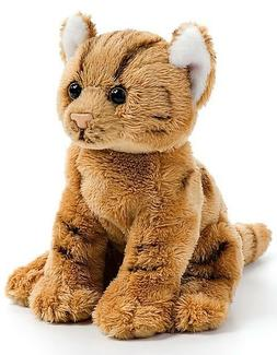 Demdaco Baby Plush Beanbag, Orange Tabby Cat