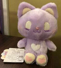 Amuse Plush Cotton Candies Purple Cat