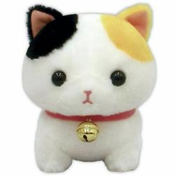 AMUSE Plush Doll Cat Chinmari Manchikan Kingyo White Japan T