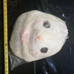 AMUSE Plush Doll Hamster Korohamu Colon Pudding Cream White