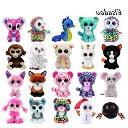 Plush Doll Toys for Girl Ty Beanie Boos Elephant Monkey Rabb