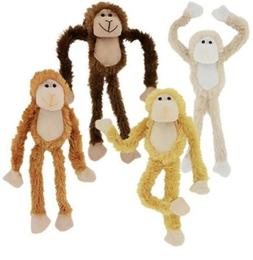 "18"" Plush Hanging Monkey STUFFED ANIMAL monkeys SOFT HANDS t"