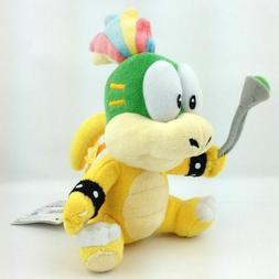 "Plush - Nintendo - Super Mario Lemmy Koopa 8"" Soft Doll Toys"