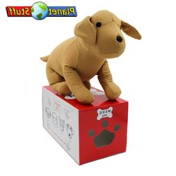 "MOGU Plush Pillow Toy Labrador Puppy Dog 13"" in Beige"