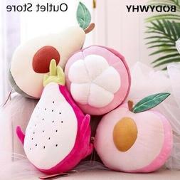 Plush Pillow Toys Creative Cushion Pillow Fruit Stuffed Doll
