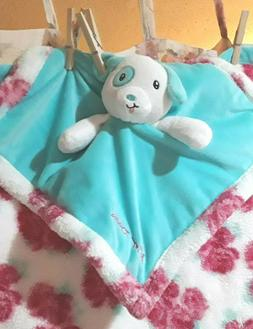 Betsey Johnson Plush Snuggle Toy and Baby Blanket Set Puppy
