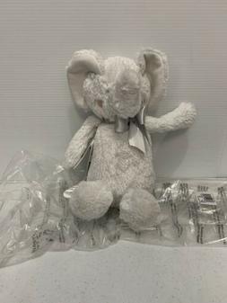 Just Born Plush Soft Sparkle Plush Toy - Grey Elephant Toddl