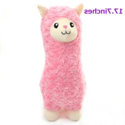 "Winsterch Plush Stuffed Animals Llama Alpaca 17.7"" Cute Plus"